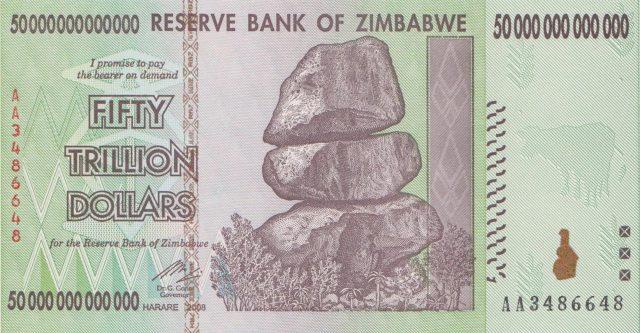 Δολλάριο Ζιμπάμπουε