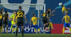 Παναιτωλικός - ΑΕΚ: 1-0 Λιβάια 68'