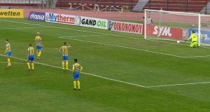 ΑΕΛ - Παναιτωλικός 1-0 από τον Πινακά στο 37'